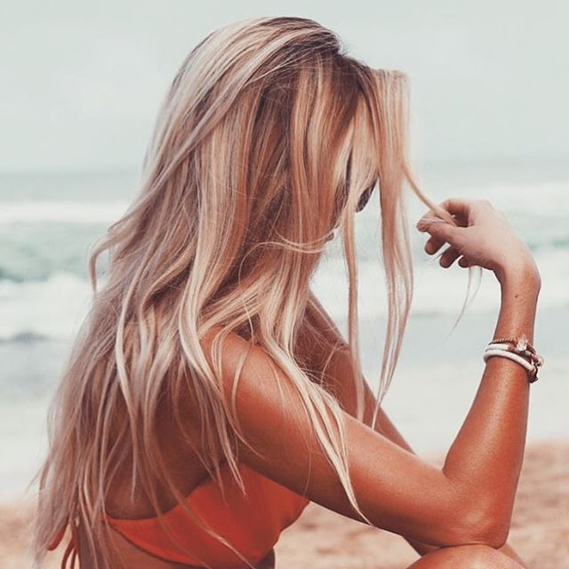 30 Hottest And Stylish Long Blonde Hairstyles – Haircuts With Best And Newest Salty Beach Blonde Layers Hairstyles (View 9 of 25)