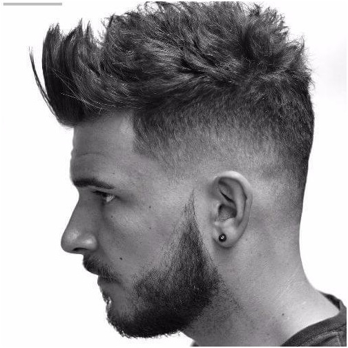 30 Mind Blowing Faux Hawk Hairstyles You Need To Check Out Within Fauxhawk Hairstyles With Front Top Locks (View 12 of 25)