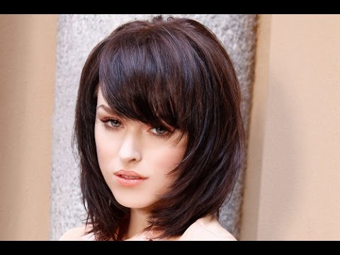 30 Shoulder Length Hairstyles With Bangs And Layers   Shoulder Within 2018 Mid Length Haircuts With Side Layers (View 10 of 25)
