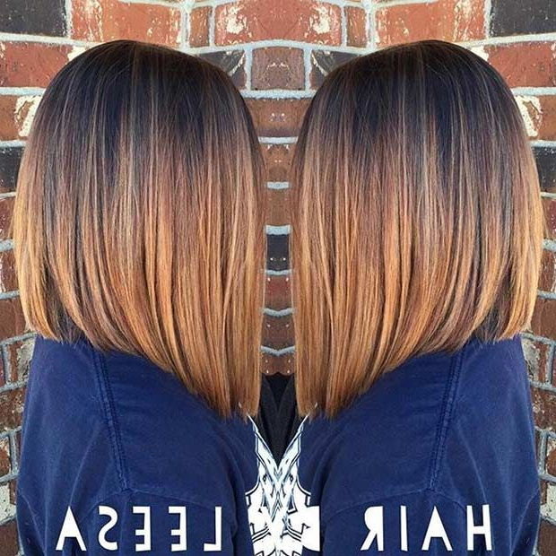 31 Best Shoulder Length Bob Hairstyles | Stayglam Hairstyles Pertaining To Most Recent Collarbone Bob Haircuts (View 10 of 25)
