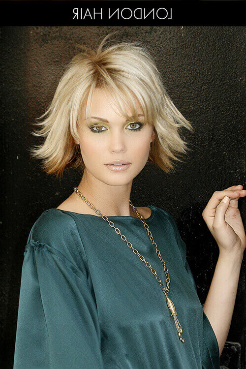 34 Perfect Short Haircuts And Hairstyles For Thin Hair (2019) With Regard To Best And Newest Layered, Flipped, And Tousled Hairstyles (View 9 of 25)