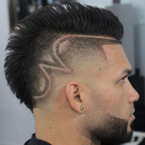 35 Best Mohawk Hairstyles For Men (2019 Guide) Intended For High Mohawk Hairstyles With Side Undercut And Shaved Design (View 7 of 25)