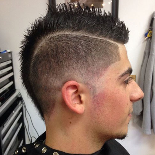 35 Best Mohawk Hairstyles For Men (2019 Guide) Pertaining To Short Mohawk Hairstyles (View 9 of 25)