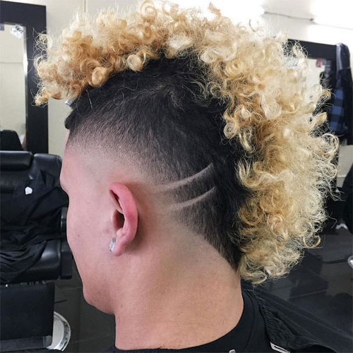 35 Best Mohawk Hairstyles For Men (2019 Guide) With Regard To Mohawks Hairstyles With Curls And Design (View 16 of 25)