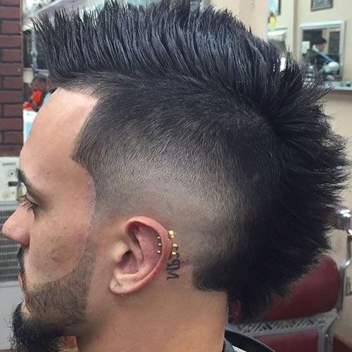 35 Best Mohawk Hairstyles For Men (2019 Update)   Fade Haircuts Inside Barely There Mohawk Hairstyles (View 5 of 25)