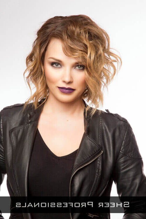 37 Chic Medium Length Wavy Hairstyles In 2019 Inside Newest Medium Messy Curly Haircuts (View 10 of 25)
