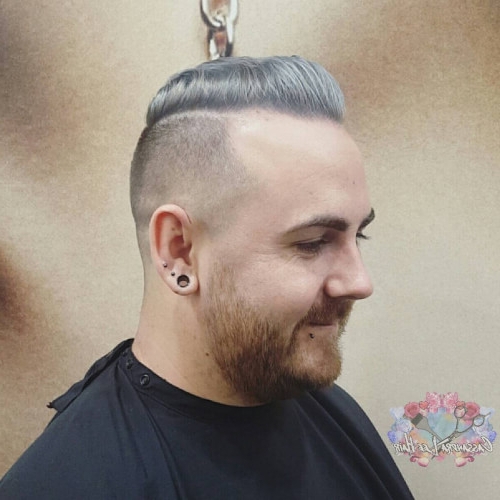 38 Incredible Silver Hair Color Ideas In 2019 Pertaining To Steel Colored Mohawk Hairstyles (View 19 of 25)