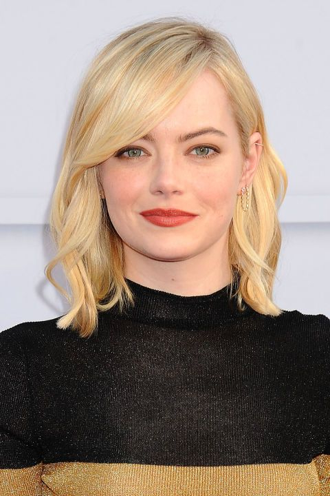 38 Non Boring Ways To Wear A Lob | Beauty: Hair | Pinterest | Hair Pertaining To Most Recent Platinum Layered Side Part Hairstyles (View 5 of 25)