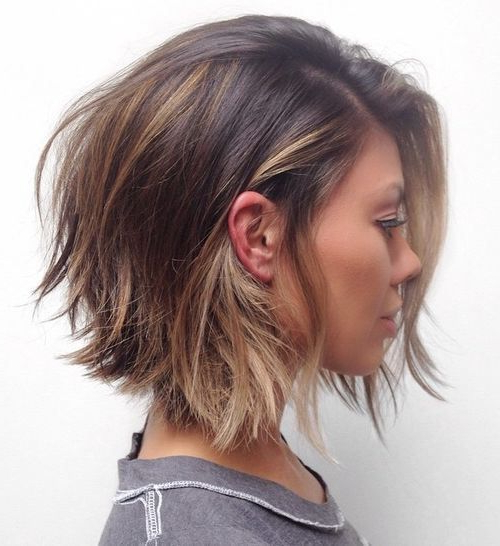 38 Perfectly Imperfect Messy Hairstyles For All Lengths | Hairstyles Inside Recent Brunette Messy Shag Hairstyles (View 5 of 25)