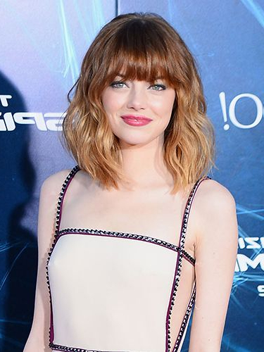 39 Fringe Hair Cuts For 2019 – Women's Hairstyle Inspiration With Regard To Newest Brunette Feathered Bob Hairstyles With Piece Y Bangs (View 18 of 25)