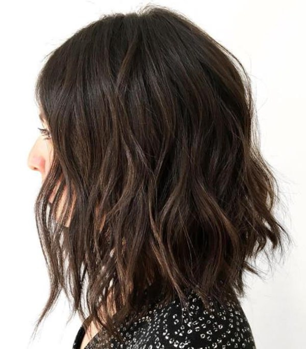 39 Pretty Lob Cut That We All Absolutely Love! – Style Easily Intended For Best And Newest Feathered Brunette Lob Haircuts (View 11 of 25)