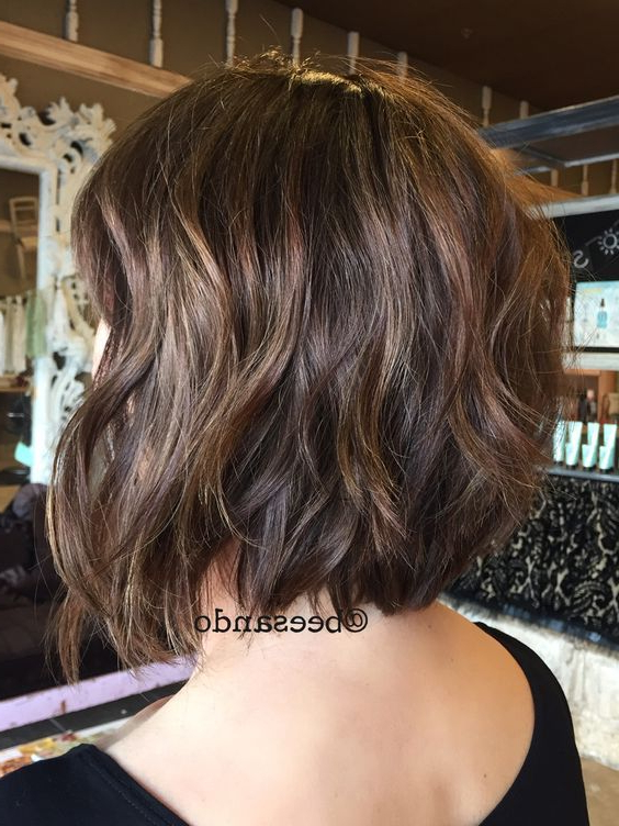 40 Best Short Hairstyles For Thick Hair 2019 – Short Haircuts For Within Most Recent Two Layer Bob Hairstyles For Thick Hair (View 4 of 25)