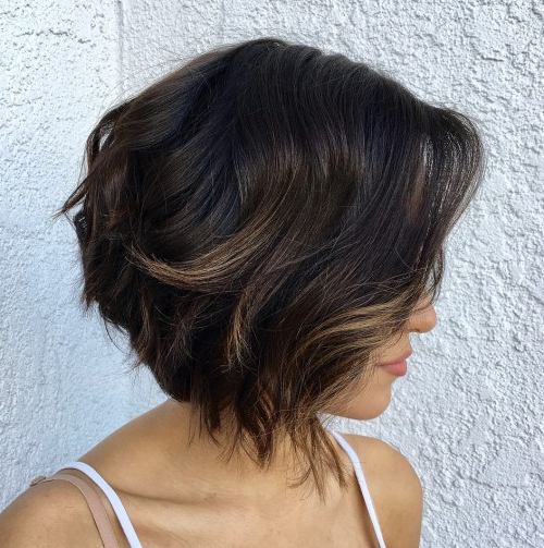 40 Fabulous Choppy Bob Hairstyles – Page 28 Of 41 – Fallbrook247 For Most Recently Brunette Messy Shag Hairstyles (View 24 of 25)