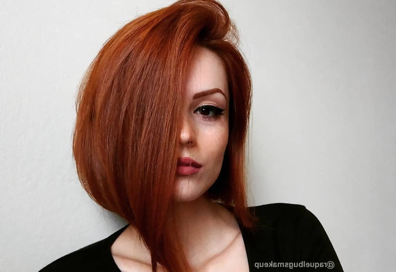 40 Gorgeous And Easy Medium To Shoulder Length Bob Haircuts Pertaining To Most Popular Collarbone Bob Haircuts (View 18 of 25)