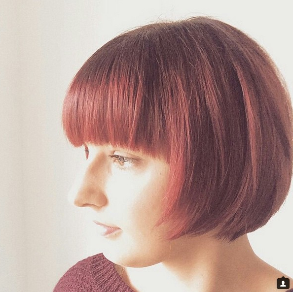 40 Most Flattering Bob Hairstyles For Round Faces 2019 – Hairstyles With Regard To Newest Uneven Layered Bob Hairstyles For Thick Hair (View 20 of 25)