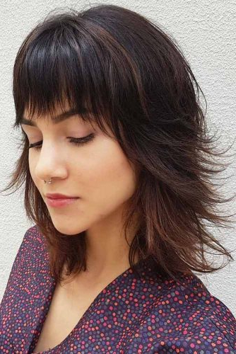 40 Totally Trendy Layered Bob Hairstyles For 2019 | Hairs (View 24 of 25)