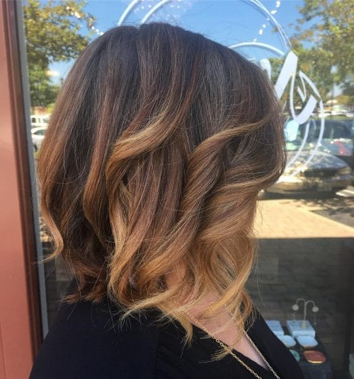 41 Incredible Dark Brown Hair With Highlights (Trending For 2019) Pertaining To Current Fringy Layers Hairstyles With Dimensional Highlights (View 25 of 25)