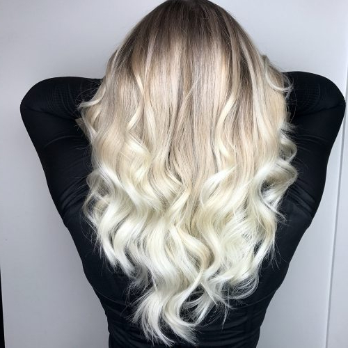 43 Cutest Long Layered Haircuts Trending In 2019 Regarding Newest Platinum Layered Side Part Hairstyles (View 6 of 25)