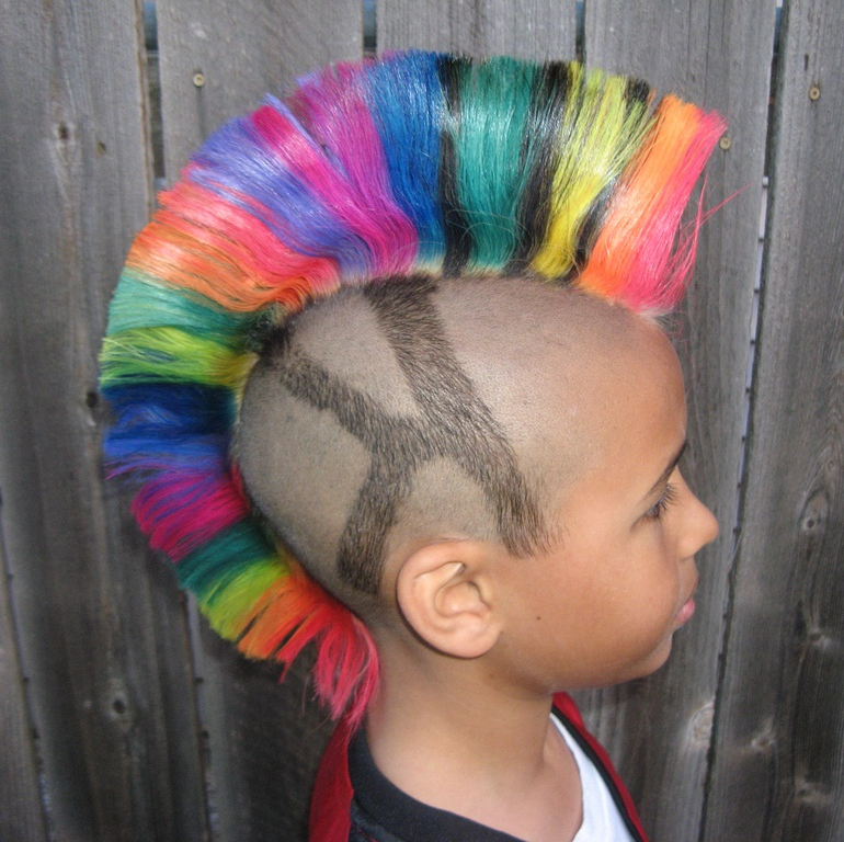 45 Marvelous Ways To Wear Mohawk Haircut – Find Yours Throughout Rainbow Bright Mohawk Hairstyles (View 13 of 25)
