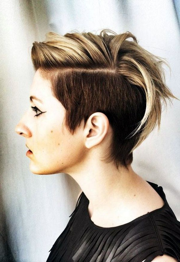 45 Voguish Mohawk Hairstyles For Women | Fashion Enzyme | Outfits Pertaining To Bed Head Honey Mohawk Hairstyles (View 2 of 25)