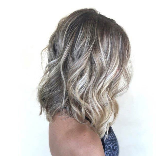 47 Hot Long Bob Haircuts And Hair Color Ideas | Page 4 Of 5 | Stayglam With Recent Ash Blonde Bob Hairstyles With Light Long Layers (View 9 of 25)