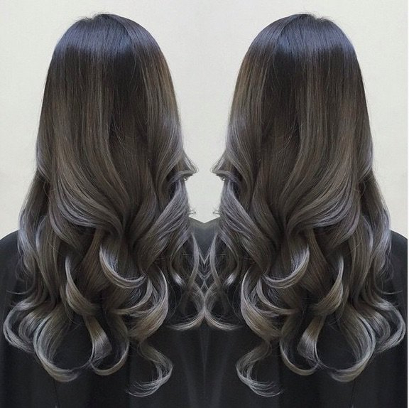 48 Ombre Hair Color Ideas We're Obsessed With – Thefashionspot Intended For Most Popular Medium Haircuts With Fiery Ombre Layers (View 16 of 25)