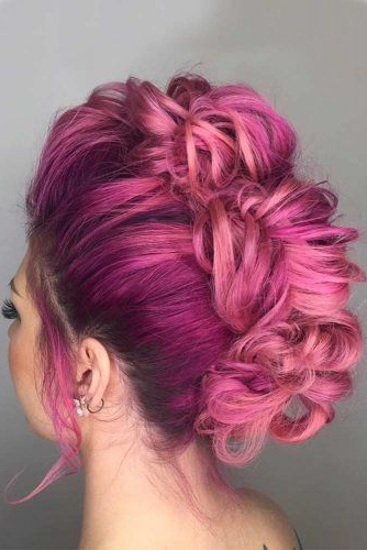 5 Extravagant Looks With A Pompadour Haircut | Pompadour, Modern With Regard To Extravagant Purple Mohawk Hairstyles (View 3 of 25)