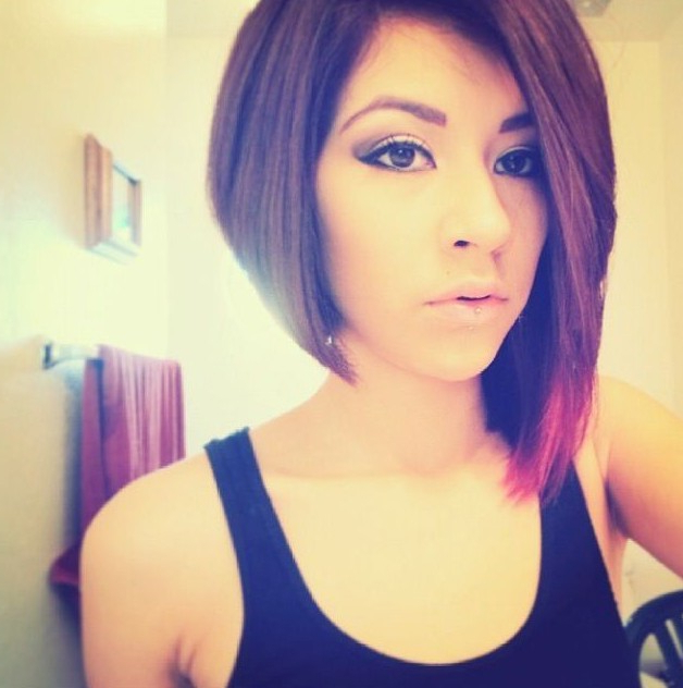 50 Adorable Asymmetrical Bob Hairstyles 2018 – Hottest Bob Haircuts With Regard To Latest Uneven Layered Bob Hairstyles For Thick Hair (View 18 of 25)