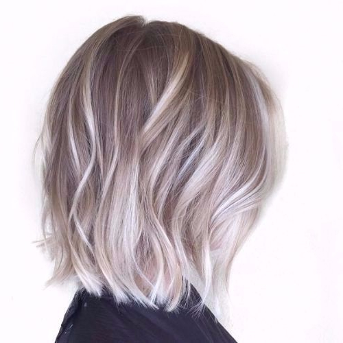 50 Ash Blonde Hair Ideas For All Hair Lengths In Best And Newest Ash Blonde Bob Hairstyles With Light Long Layers (View 11 of 25)