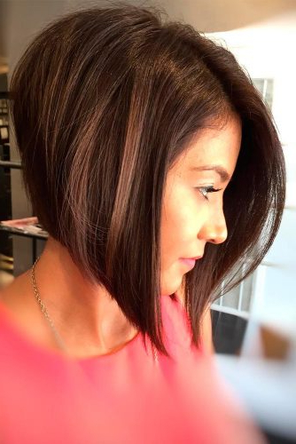 50 Beautiful And Super Stylish Bob Haircuts | Lovehairstyles In 2018 Point Cut Bob Hairstyles With Caramel Balayage (View 21 of 25)