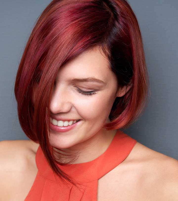 50 Best Hairstyles For Short Red Hair Throughout Hot Pink Fire Mohawk Hairstyles (View 23 of 25)