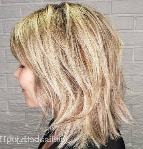 50 Best Variations Of A Medium Shag Haircut For Your Distinctive Within Most Recently Medium Golden Bronde Shag Hairstyles (View 6 of 25)