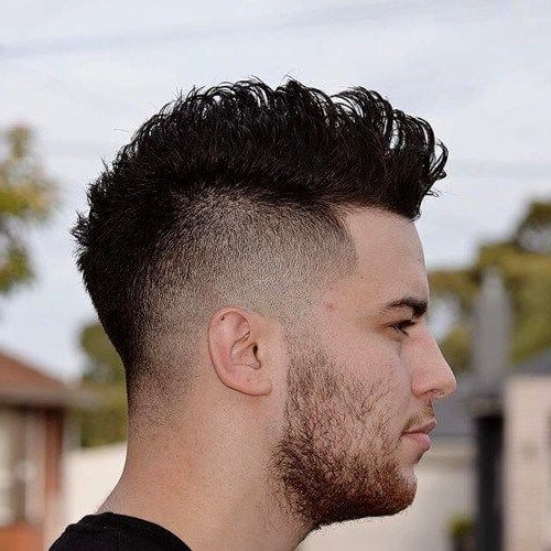 50 Eccentric Mohawk Haircut Ideas | Menhairstylist Men Hairstylist In Voluminous Tapered Hawk Hairstyles (View 9 of 25)