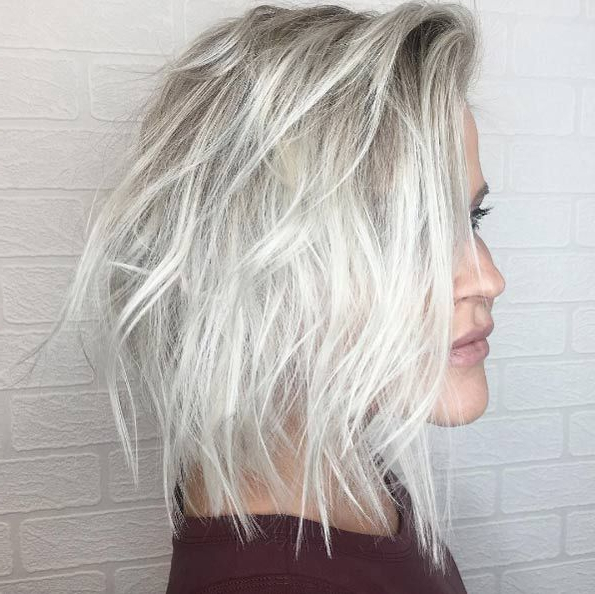 50 Enviable Platinum Blonde Hairstyles That Just Might Inspire You Inside 2018 Platinum Layered Side Part Hairstyles (View 17 of 25)