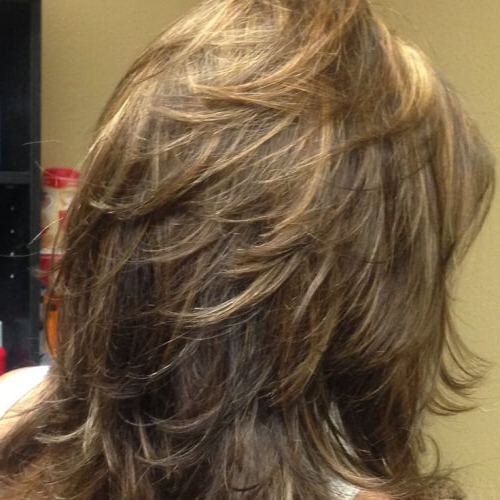 50 Funky Shag Haircuts | Hair Motive Hair Motive With Most Recently Swoopy Layers Hairstyles For Voluminous And Dynamic Hair (View 13 of 25)