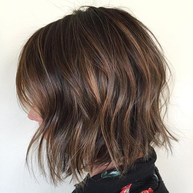 50 Hottest Balayage Hairstyles For Short Hair – Balayage Hair Color Intended For Most Recently Point Cut Bob Hairstyles With Caramel Balayage (View 12 of 25)