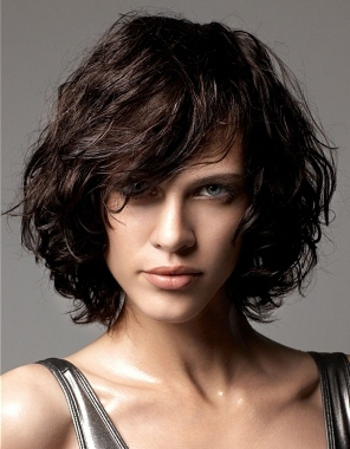 50 Layered Haircuts You Want To Try Immediately | Hairstyles In Newest Curly Layered Bob Hairstyles (View 2 of 25)