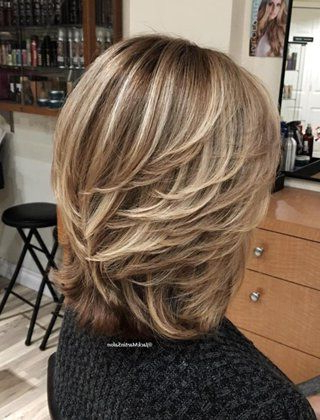 50 Modern Haircuts For Women Over 50 With Extra Zing | Hairstyles Regarding Latest Mid Length Two Tier Haircuts For Thick Hair (View 3 of 25)