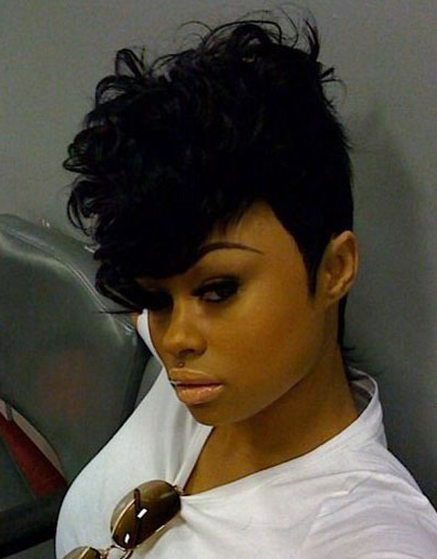 50 Mohawk Hairstyles For Black Women | Stayglam Throughout Short Curly Mohawk Hairstyles (View 7 of 25)