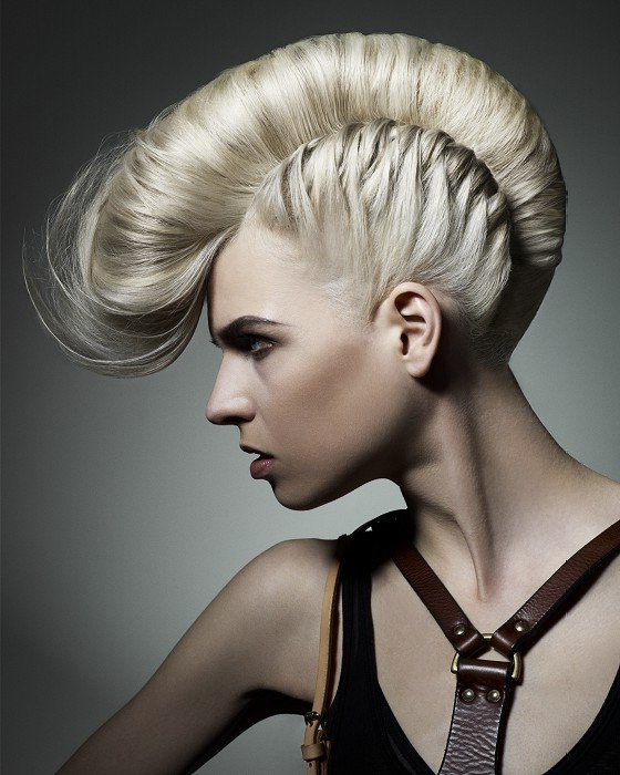 50 Most Gorgeous Mohawk Hairstyles – Hairstyle Insider With Innocent And Sweet Mohawk Hairstyles (View 6 of 25)
