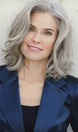 50 Short And Stylish Hairstyles For Women Over 50 | Hairstyles Throughout Most Recent Platinum Layered Side Part Hairstyles (View 8 of 25)