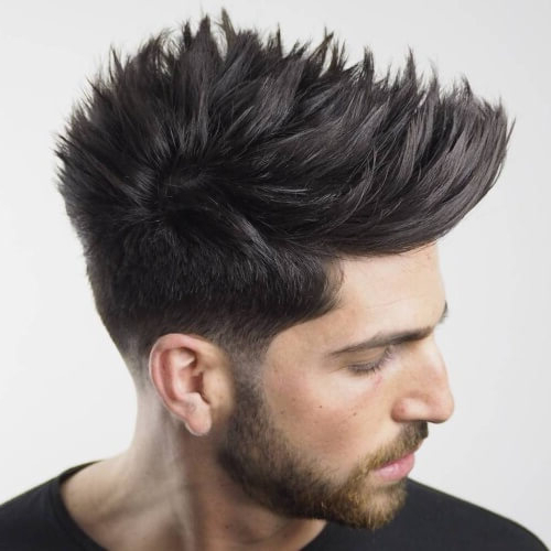 50 Spiky Hairstyles For Men – Men Hairstyles World Intended For Spikey Mohawk Hairstyles (View 12 of 25)