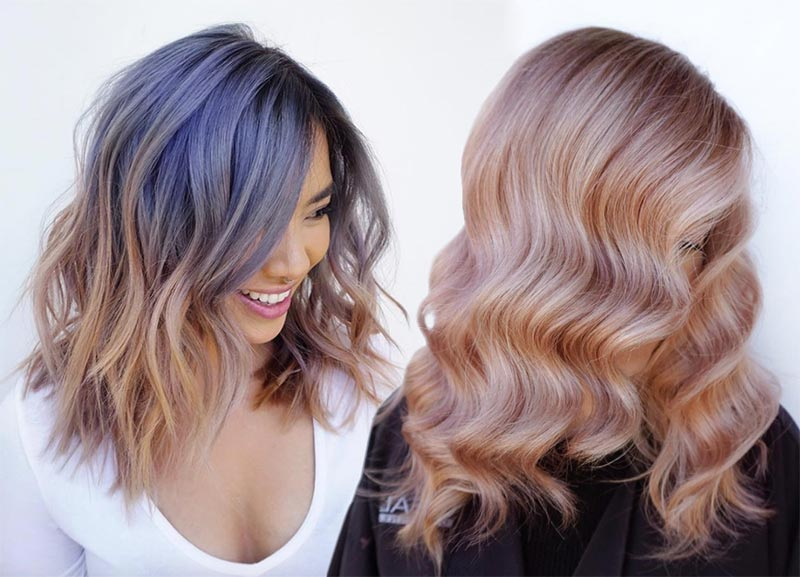 51 Medium Hairstyles & Shoulder Length Haircuts For Women In 2019 Inside Current Medium Haircuts With Fiery Ombre Layers (View 15 of 25)
