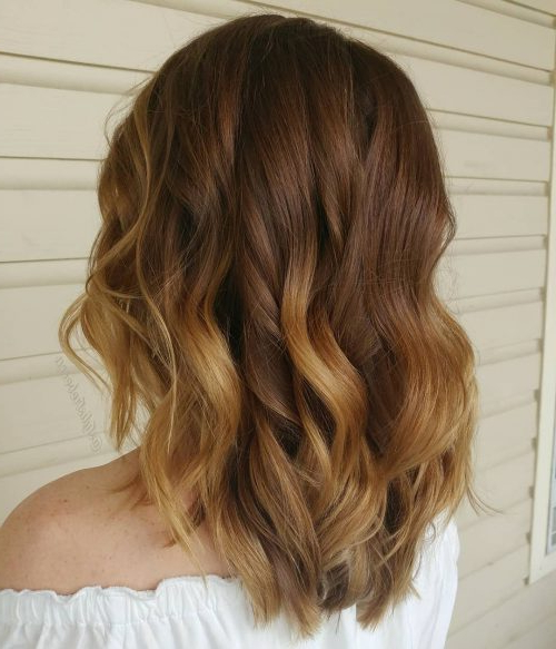 51 Stunning Medium Layered Haircuts (Updated For 2019) For Most Recently Two Tier Lob Hairstyles For Thick Hair (View 10 of 25)
