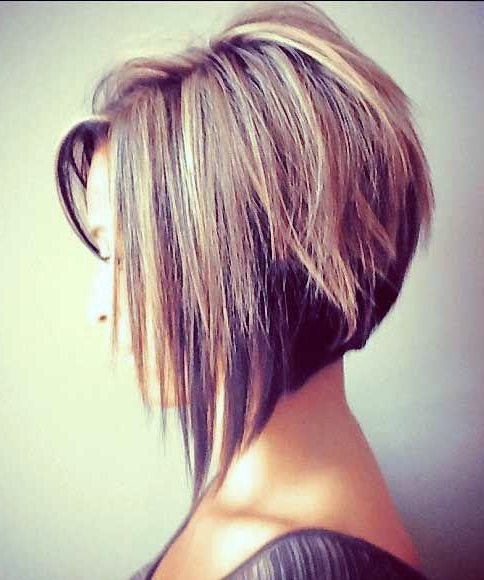 55 Best Long Angled Bob Hairstyles We Love – Hairstylecamp Inside Best And Newest Medium Angled Purple Bob Hairstyles (View 14 of 25)