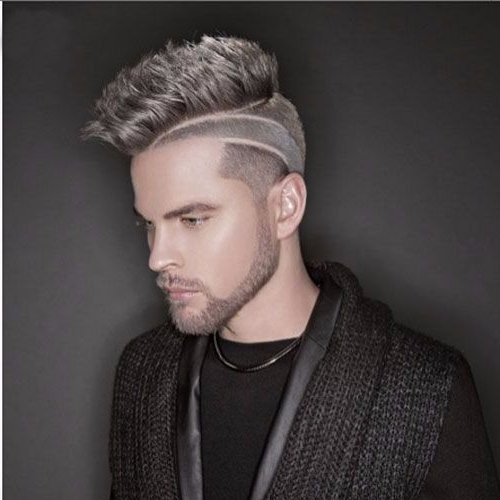 55 Coolest Faux Hawk Haircuts For Men – Men Hairstyles World Inside Braids And Twists Fauxhawk Hairstyles (View 18 of 25)