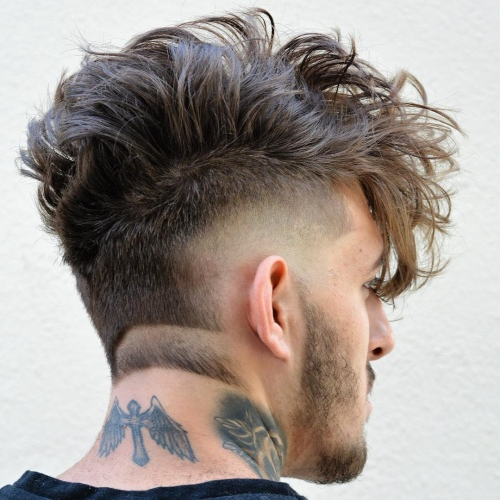 55 Edgy Or Sleek Mohawk Hairstyles For Men – Men Hairstyles World For Barely There Mohawk Hairstyles (View 14 of 25)