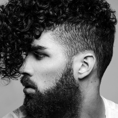 55 Edgy Or Sleek Mohawk Hairstyles For Men – Men Hairstyles World Intended For Curly Haired Mohawk Hairstyles (View 9 of 25)