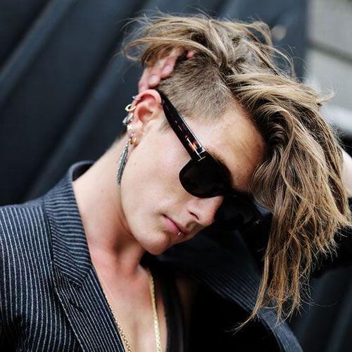 55 Edgy Or Sleek Mohawk Hairstyles For Men – Men Hairstyles World Throughout Messy Hawk Hairstyles For Women (View 24 of 25)