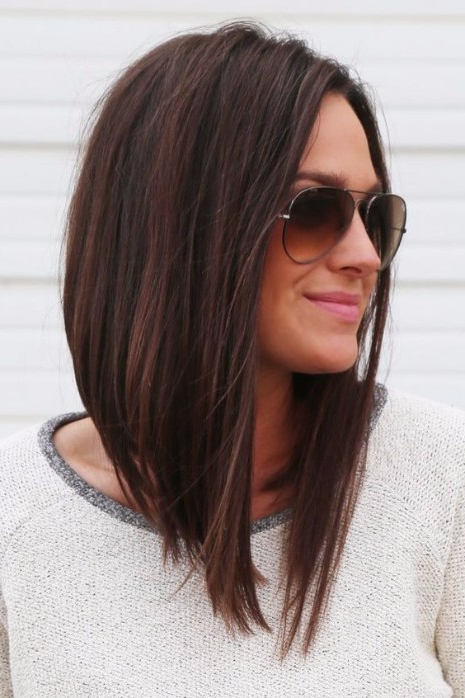 55 Lovely Long Hair Ladies With Layers – Hairstyles & Haircuts For Regarding Most Recently Burgundy Bob Hairstyles With Long Layers (View 5 of 25)